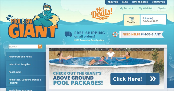 Pool & Spa Giant