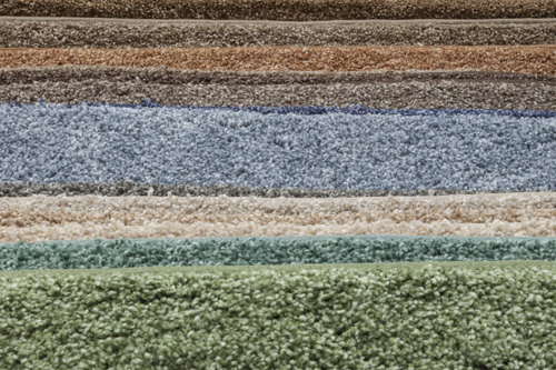 Carpet from local Tecumseh, Michigan, business