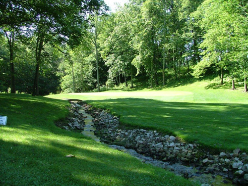 Raisin Valley Golf Club, 14 ditch