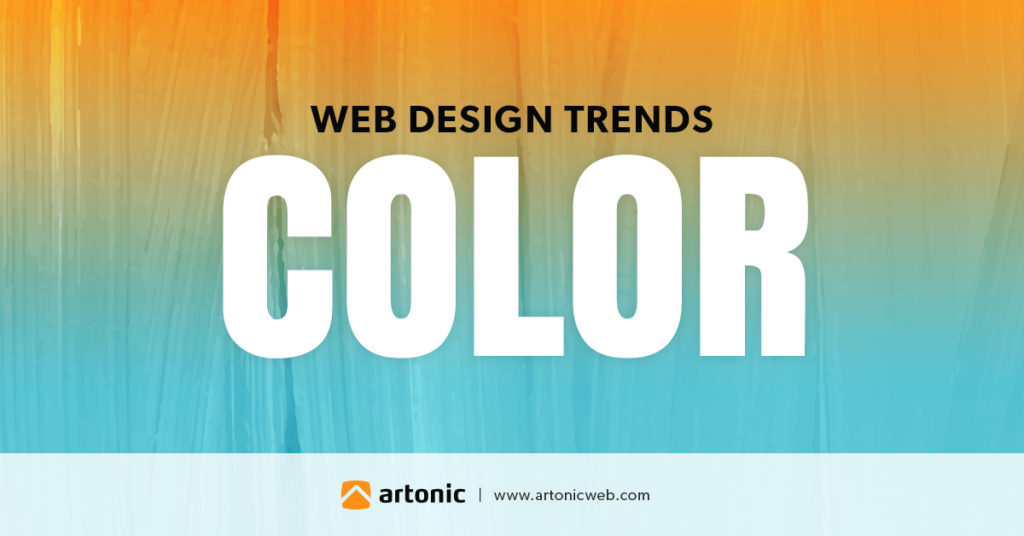 color is a web design trend