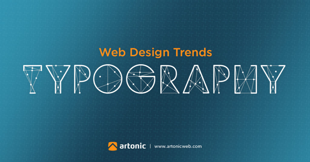 typography is a web design trend