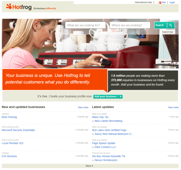 online business directory hotfrog