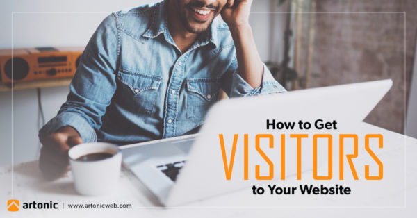 get visitors to your website