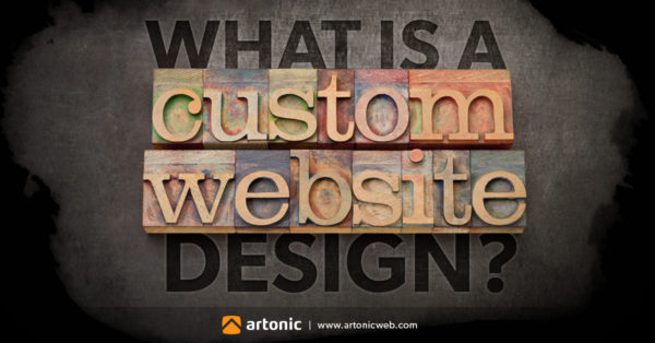 what is a custom website design?