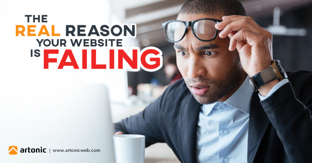 your website is failing. here's why.