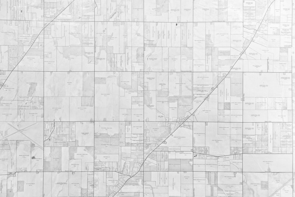 An old map of Macon Township is an excellent image to include in this website design.