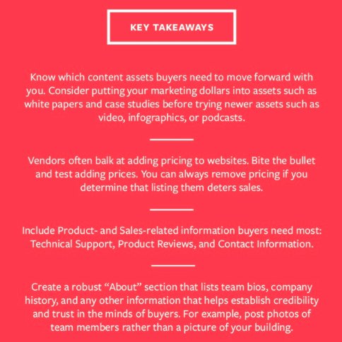 Key Takeaways from KoMarketing Usability Study.